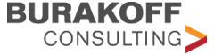 Logo design, branding, brand identity, Burakoff Consulting Logo