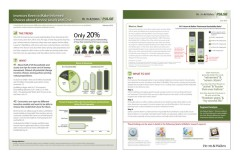 newsletter design, research design, Southeastern MA