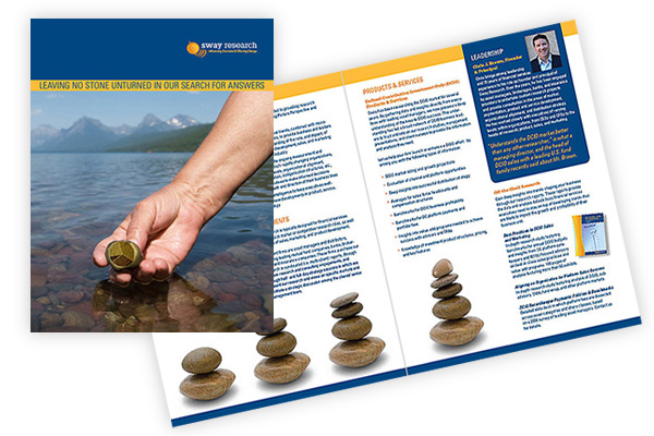 brochure design for research industry